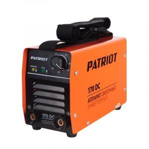 Инвертор сварочный Patriot 170 DC MMA