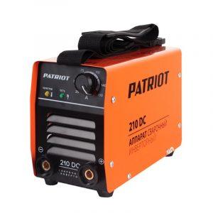 Инвертор сварочный Patriot 210 DC MMA