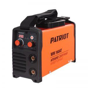 Инвертор сварочный Patriot WM 160AT MMA