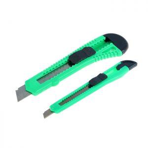 """Набор ножей универсальных (2 шт) """"TUNDRA 9 мм и 18 мм"""