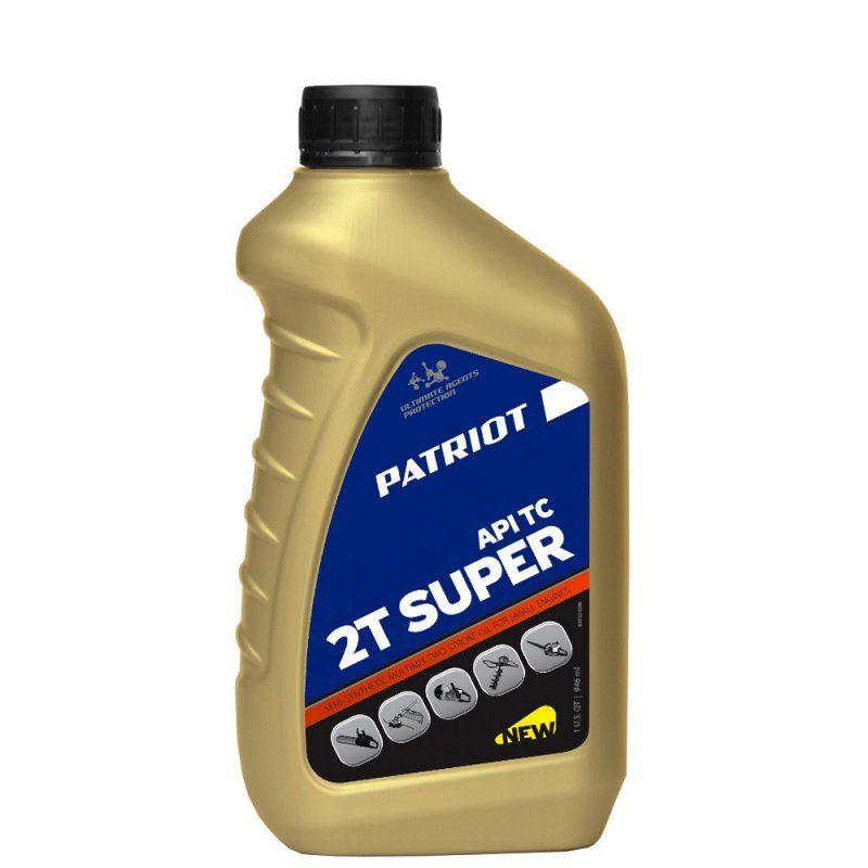 Масло полусинт. PATRIOT SUPER ACTIVE 2T 0