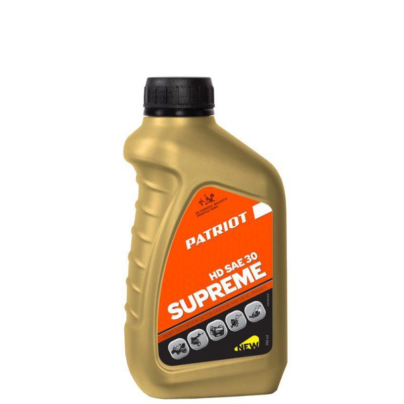 Масло PATRIOT SUPREME HD SAE 30 4T 0