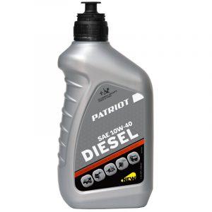 Масло PATRIOT DIESEL  полусинтетическое SAE 10W-40 API CF-4 0