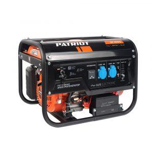 Генератор бензиновый GP 3510E PATRIOT