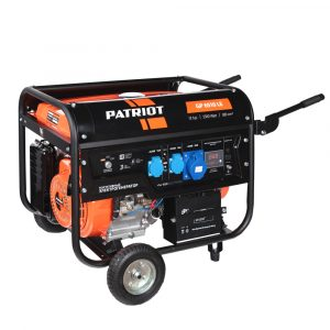 Генератор бензиновый GP 6510LE PATRIOT