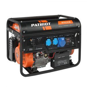 Генератор бензиновый GP 8210AE PATRIOT
