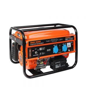 Генератор бензиновый Max Power SRGE 3500E PATRIOT