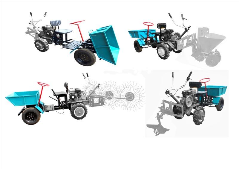 Адаптер кузовной для мотоблоков передний АК-1